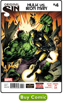 Original Sin - Hulk vs. Iron Man